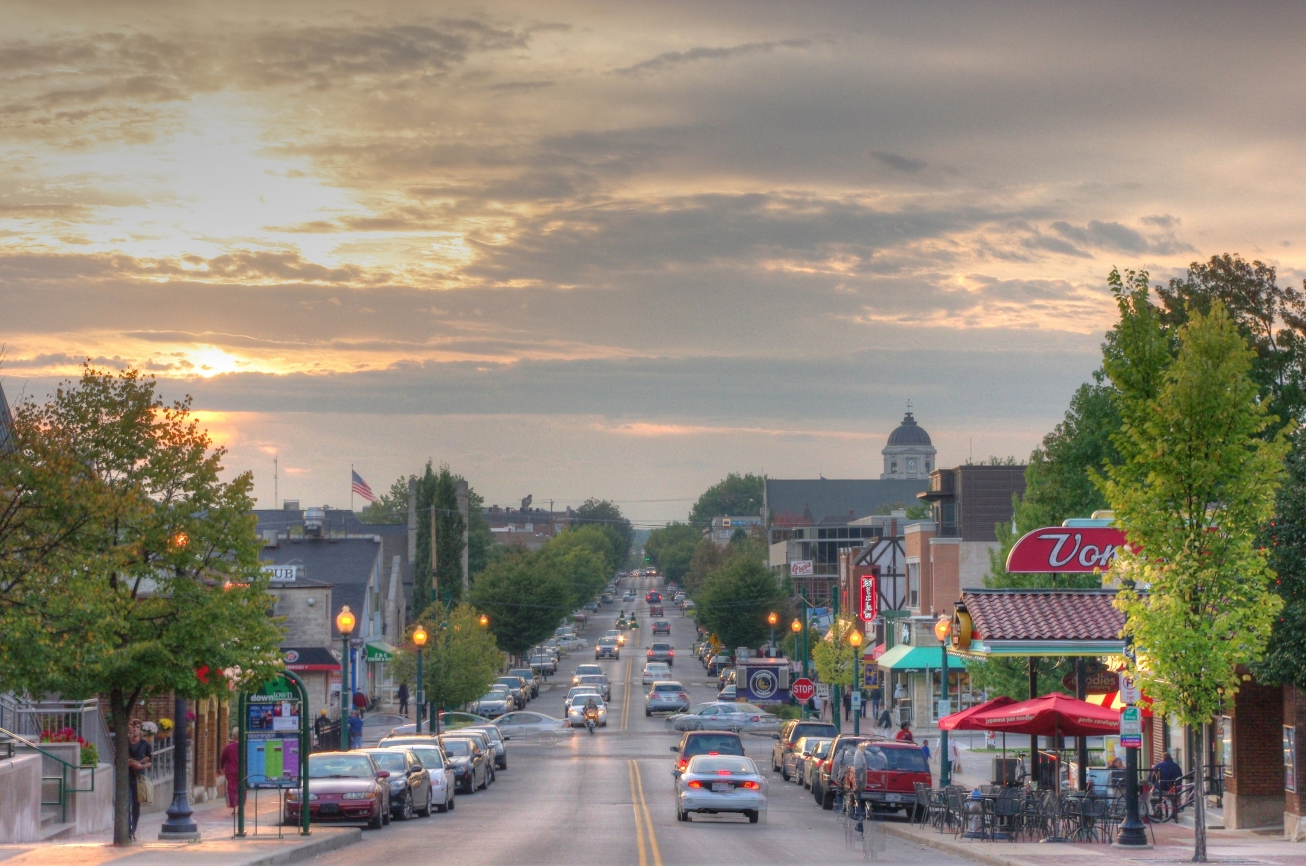 Bloomington Indiana Town photo